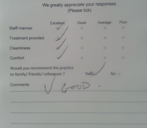 greenford dentist review