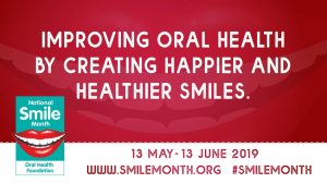 National Smile Month Supporter